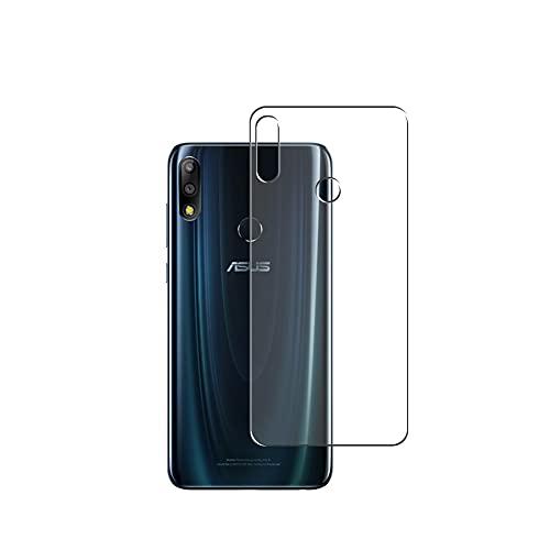 Vaxson 2 Stück Rückseite Schutzfolie, kompatibel mit Asus Zenfone Max Pro (M2) ZB631KL, Backcover Skin TPU Folie [nicht Panzerglas/nicht Front Displayschutzfolie]
