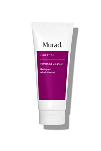 Murad Hydration Refreshing Cleanser - Foaming Facial Cleanser Hydrates and Smooths - Non- Drying Face Cleanser, 6.75 Fl Oz