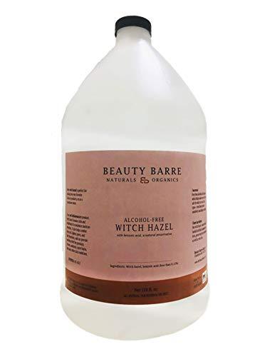 Alcohol Free Pure Witch Hazel Astringent Toner Bulk (Unscented - Gallon - 128 ounces)