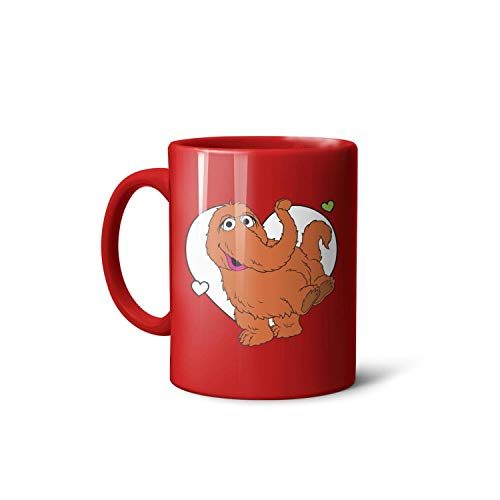 Mr Snuffleupagus Television Mammoth Furry Toys 11 Oz Lovely Double Print Mug Suitable for Outdoors Give to Bus Drivers The Best Gift,Microwave Dishwasher Available