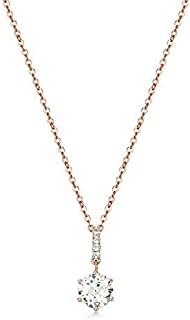 Mestige Rose Gold Anika Necklace with Swarovski® Crystals, Gift