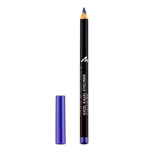 Manhattan Khol Kajal Eyeliner, Lila Kohle-Kajalstift für Smokey Eyes und eine ideal umrandete Augenkontur, Farbe Lila Lilac 67K (1 x 1,3g)