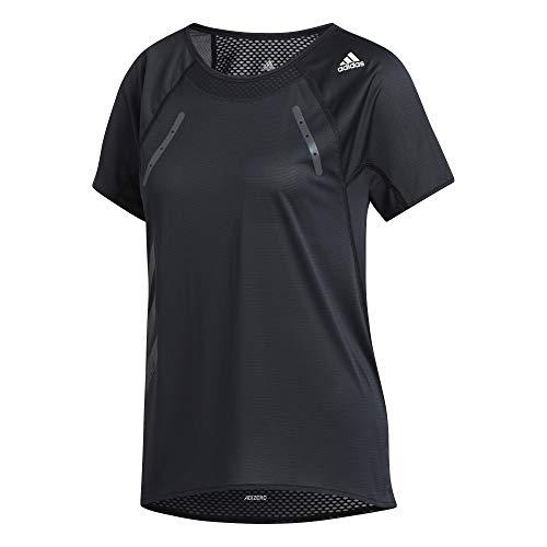 adidas - Fitness-T-Shirts für Damen in Black, Größe M