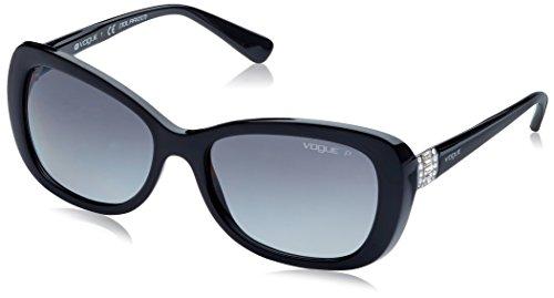 Vogue 0Vo2943Sb Gafas de sol, Black, 55 para Mujer