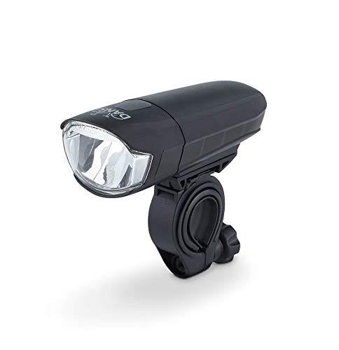 DANSI LED Fahrrad-Batterieleuchtenset, StVZO, schwarz, 44001 - 2