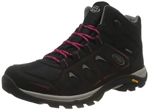Brütting MOUNT FRAKES HIGH Trekking- & Wanderstiefel Damen, Schwarz/ Pink, 38 EU
