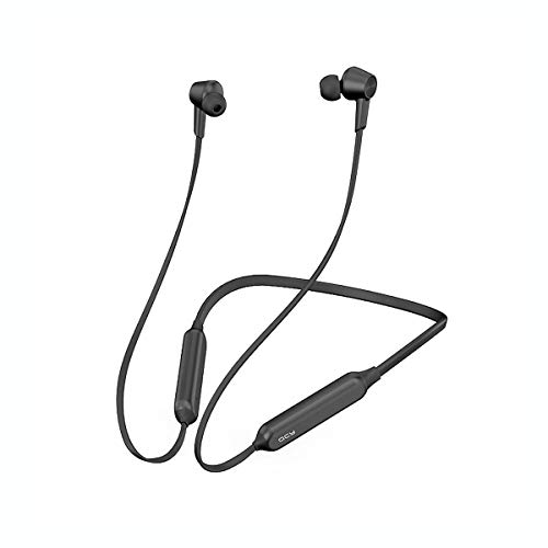 QCY L2 Neckband Bluetooth Headphones with ANC Active Noise Cancelling Wireless Headphones with Built-in Magnets IPX4 Splashproof 13 Hour Playtime & CVC 6.0 Noise Cancelling Mic