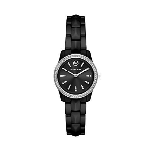 Michael Kors Runway Mercer Three-Hand Stainless Steel Watch