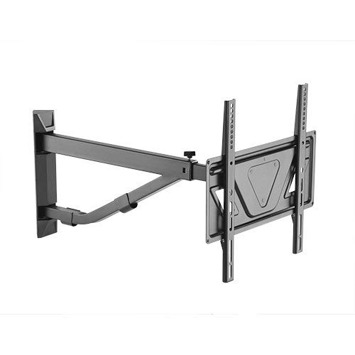 Mount Plus MP-443C Long Arm TV Wall Mount with 31 Inch Extension | Full Motion Design for Corner Installation | Fits 32' - 60' TV | 110 Pound Capacity | Max VESA 400x400 (Corner Wall Mount)