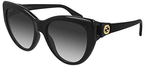 Gucci Occhiali sole originali GG0877S 001 56-18 Grey Gradient Black
