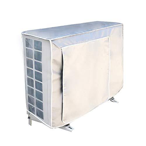 Faviye Klimaanlage Abdeckung Staubschutz wasserdicht Sonnenschutz abdeckung für Außenbereiche Klimaanlage, 1.5P-80 * 32 * 57cm
