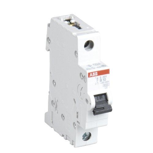 ABB 47262L Sicherungs-Einbauautomat, 10A, 1-polig, 230/400V, 6kA