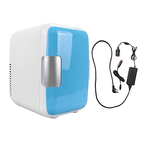 Promise2134 - Termostato portátil para frigorífico, doble uso, 4 L, bajo nivel de ruido, para calefacción y refrigeración, uso dual Auto und Heimgebrauch azul