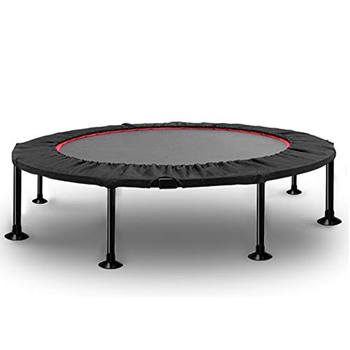 ZAQ Trampoline Fitness With Safety Pad, Folding Trampoline Trainer, Portable Excercise Equipment For Girls Boys Adults, Indoor Outdoor (Size : 102cm(40 inch)-Load 325kg)
