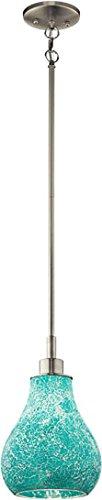 Kichler 65408, Crystal Ball Mini Cone Pendant, 1 Light, Brushed Nickel