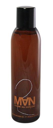 Comme des Garcons 2 Man homme/men, Duschgel 200 ml, 1er Pack (1 x 200 ml)