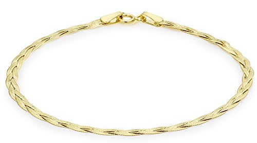 Carissima Gold Damen Armband 9 Karat (375) Gelbgold 180 mm 1.25.9851