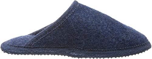 GIESSWEIN Hausschuh Tino - Warme Filz-Pantoffeln | leichte Hausschuhe für Damen & Herren | rutschfest Slipper aus Wollfilz | Unisex Filzhausschuhe