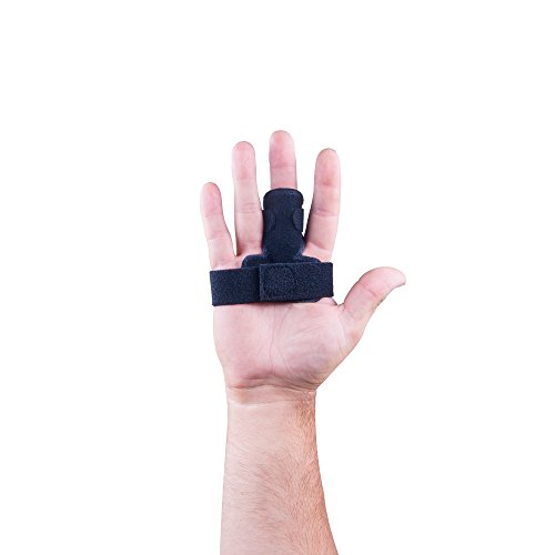 The Original MedicHelp Adjustable Trigger Finger Splint for Alleviating Finger Locking, Popping,...