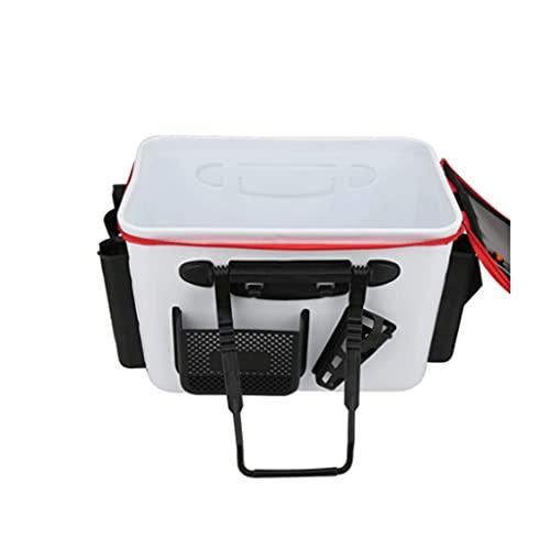 YUTRD ZCJUX Cubo de Pesca Espesado Eva Fish Tank Bucket Camping Portátil Camping Senderismo Cubo Bolsa de Pesca Aparejos de Pesca al Aire Libre