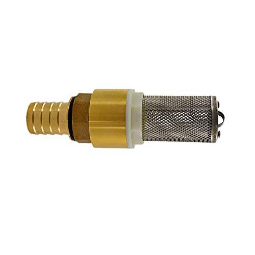 Fussventiel mit Filter u. Rückschlagventil f. Hauswasserwerk Jetpumpe Gartenpumpe Dieselpumpe Heizölpumpe für Pumpen 1