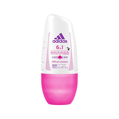 adidas Cool & Care 6 En 1 - Desodorante roll-on,...
