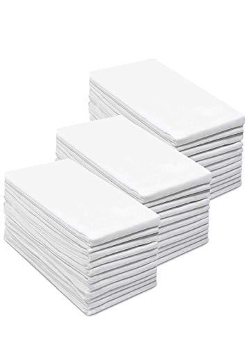Simpli-Magic 79146 Flour Sack Towels, 28''x28'', White, 12 Pack