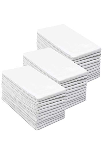 Simpli-Magic 79146 Flour Sack Towels, 28''x28'', White, 12 Pack