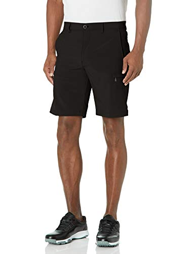 IZOD Men's Golf SwingFlex Cargo Short, Black, 36