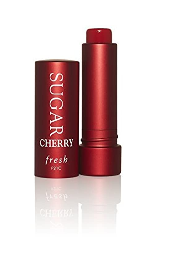 可塑性ニコチン印象的なFresh Sugar CHERRY Tinted Lip Treatment Sunscreen SPF 15 (FULL SIZE) .15 oz by Fresh [並行輸入品]