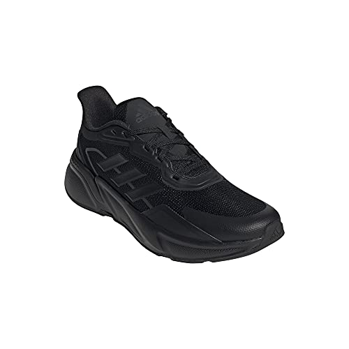 adidas X9000L1, Zapatillas de Running Hombre, NEGBÁS/NEGBÁS/Carbon, 45 1/3 EU