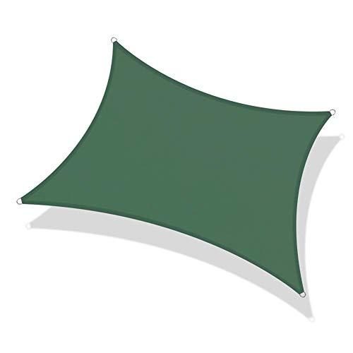 PLEASUR partij zonnebrandcrème luifel zon schaduw zeil rechthoek waterdichte tuin zon schaduw zeil luifel 95% blok 4 kleuren en 4 maten voor outdoor faciliteit en activiteiten