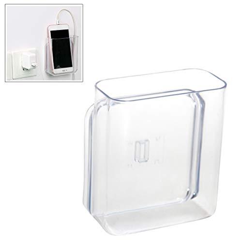 Mallalah Soporte de pared para mando a distancia, caja organizadora de almacenamiento para aire acondicionado, caja de TV, estéreo, mando a distancia de TV