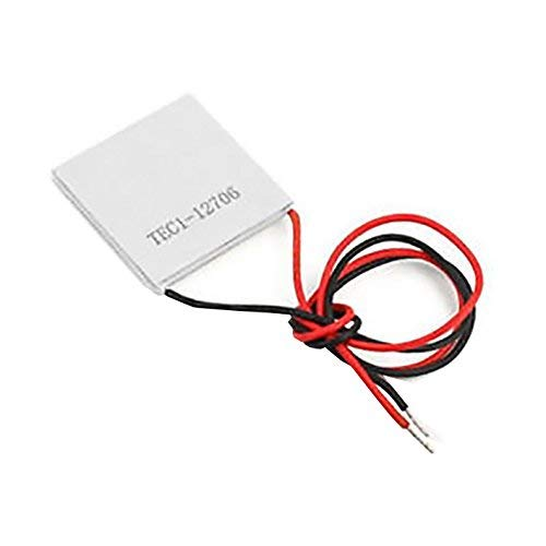 Movilideas - Celula Peltier Termoelectrica Ceramica TEC1 12706 12V 60W 6A Disipador Enfriador