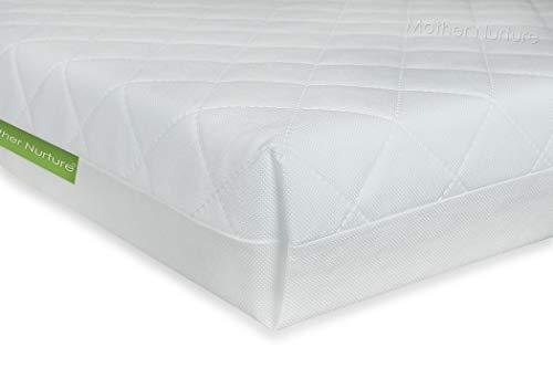 MOTHER NURTURE Classic Quilted Fibre Cot Bed Mattress 140 x 70 x 13cm