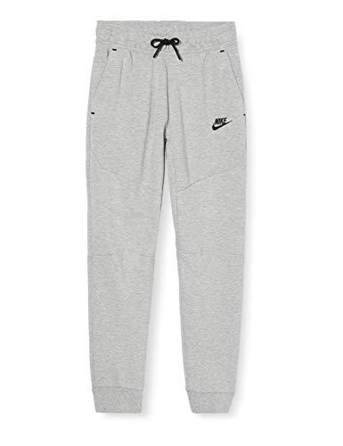 Nike Jungen Hose Sportswear Tech Fleece, Dark Grey Heather/Black, S, CU9213-063