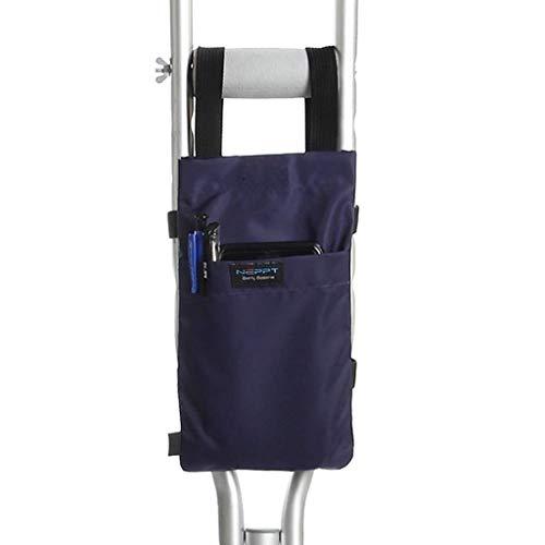 De lichtgewicht aluminium telescopische wandelstokken krijgen een harde geanodiseerde behandeling die schade aan het aantrekkelijke oppervlak voorkomt waardoor ze duurzaam zijn Blauw