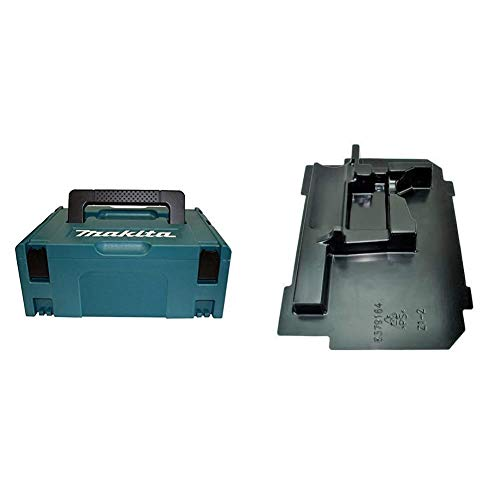 Makita 821550-0 Type 2 Makpac Connector Case, Blue & 837916-4 Makpac Inner Tray