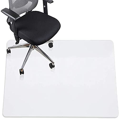 Alfombrilla antiestática para el suelo de la oficina Alfombrilla para silla de ordenador de alta resistencia a los impactos, cubierta de alfombra portátil Alfombrilla protectora de suelo de madera