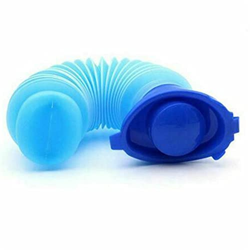 Beifeng Bolsillos de inodoro para tu cuarto de baño en el coche urinario de emergencia portátil camping retráctil inodoro móvil