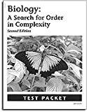 Biology 2e Tests: Search for Order in Complexity (Misc Homeschool)