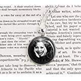 Toni Morrison – Literatura – Autor Jewelry – Mujeres escritoras – Libro Joyería – Literaria Joyería – Feminismo – Regalos de libro – Amado