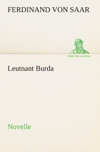 Leutnant Burda: Novelle (TREDITION CLASSICS)