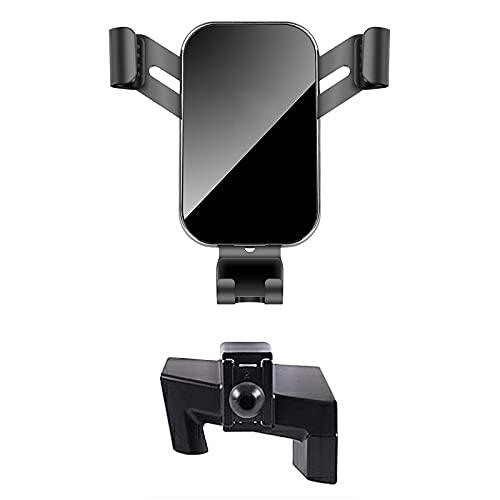SUKLIER Soporte para TeléFono MóVil para Coche Alphard 2015-2019 Soporte De Montaje Especial Soporte De NavegacióN por Gravedad GPS Accesorios,con El Logotipo De Toyota