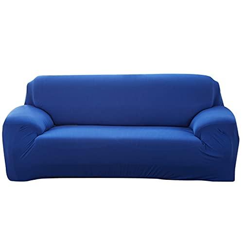 WXQY Fundas Antideslizantes elásticas de Color sólido Funda de sofá Antideslizante Funda de sofá para Mascotas Esquina en Forma de L Funda de sofá Antideslizante A3 2 plazas