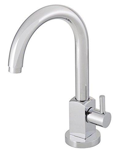 Grünblatt Bad Kaltwasser Standventil Armatur Wasserhahn Badarmaturen armaturen mit Anschlussschlauch (Schwenkauslauf)