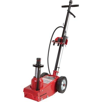 Strongway 35-Ton Quick Lift Air/Hydraulic Service Floor Jack