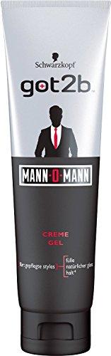 got2b Mann-O-Mann Gel-Tube, 4er Pack (4 x 150 ml)
