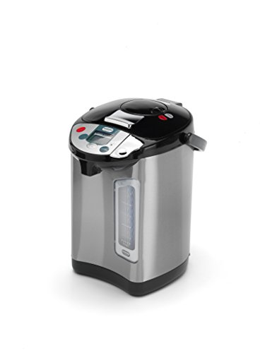 Addis 516521 Thermo Pot Instant Thermal Hot Water Boiler Dispenser, 680 W, 3.5 liters, Stainless Steel/Black