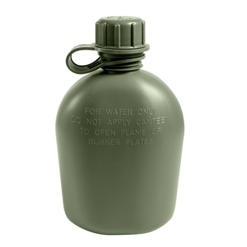 Military Outdoor Clothing U.S. Military Canteen, Olive Drab, 1-Quart